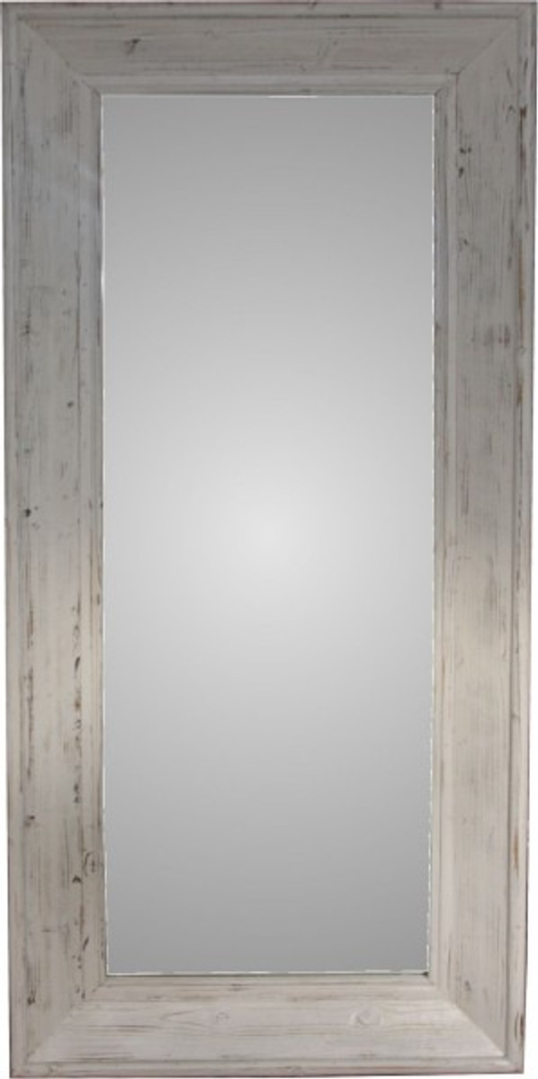 casa padrino shabby chic country house style wall mirror 180 x 82 cm antique style vintage. Black Bedroom Furniture Sets. Home Design Ideas