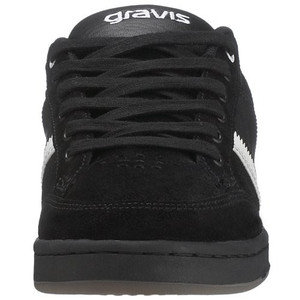 Gravis Skateboard Damen Schuhe Data Black/White - Sneaker Sneakers – Bild 3