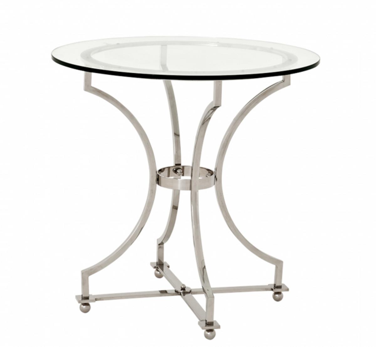 Casa padrino luxus art deco designer beistelltisch 75 x h for Beistelltisch 75 cm