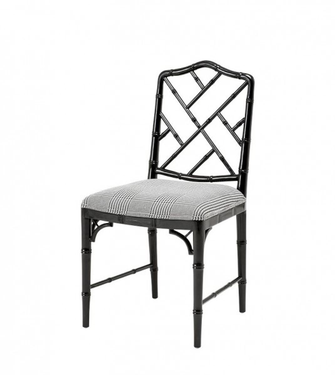 Casa Padrino Luxus Esszimmer Stuhl Schwarz - Hotel Restaurant Stuhl Stühle Luxus Stühle Luxus ...
