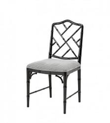 Casa Padrino luxury dining room chair black - Hotel Restaurant Chair