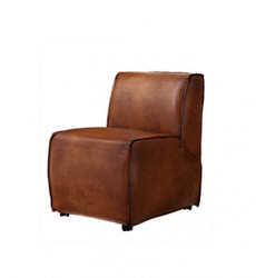 Casa Padrino luxury dining room leather chair brown - Luxury Quality