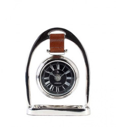 Casa Padrino designer luxury clock 49 Regent Street London 18 x 5 x H. 24.5 cm - Stainless & Sumptuously