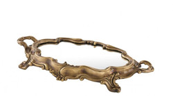 Casa Padrino luxury brass tray 35.5 x 21.5 x H. 4.5 cm - Luxury Quality