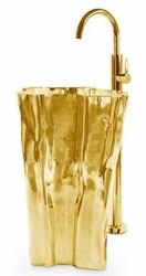 Luxury washbasin Eden Gold