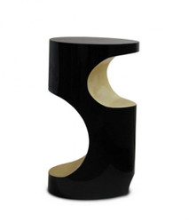 Luxury Designer Fiberglass Side Table Bryce