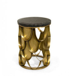 Luxury Designer Side Table Koi