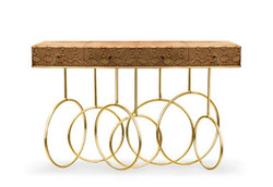 Luxury Designer Console Burlesque Bronze Gold