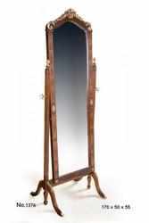Casa Padrino Standspiegel 55 x 50 x H. 170 cm - Barock Standspiegel