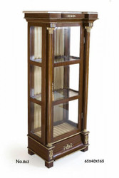 Casa Padrino baroque display 64 x 40 x H. 165 cm - display cabinet - living room cabinet