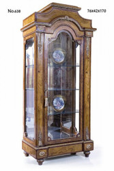 Casa Padrino baroque display cabinet 76 x 42 x H. 170 cm - living room cabinet