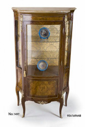 Casa Padrino baroque display cabinet 95 x 48 x H. 169 cm - baroque furniture
