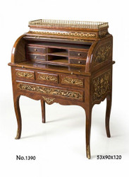 Casa Padrino baroque secretary 90 x 53 x H. 120 cm - baroque furniture