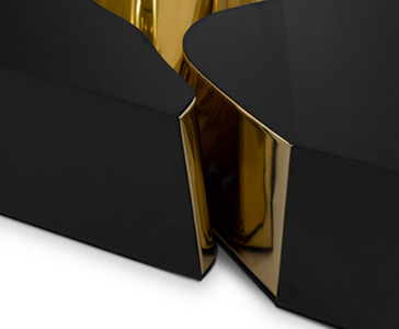 Luxury Center Table Lapiaz Black Gold – Bild 3