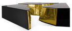 Luxury Center Table Lapiaz Black Gold – Bild 5
