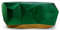 Luxury Sideboard Diamond Emerald