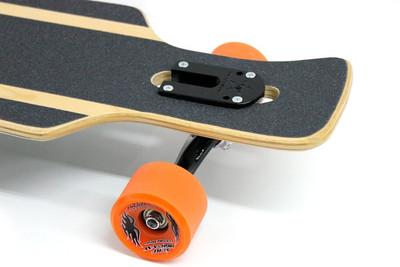 Hammond Complete Longboard Drop Through Komplettboard Ding Dong 39 x 9 inch -  Dropthrough Profi Longboard mit Koston Kugellagern – Bild 3