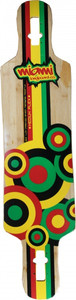 Miami Longboard Drop Through Freeride Deck 97 x 24 cm – Bild 1