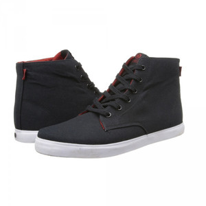 C1rca Skateboard Shoes Hero Black / Pompeian Red - Trainers Sneaker