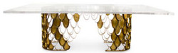 Luxury Dining Table Koi II
