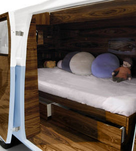Luxury Bed / Room Bun Van – Bild 11