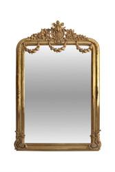 Casa Padrino Antikstil Spiegel 95 x H. 165 cm - Barock Wandspiegel