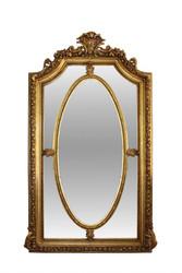 Casa Padrino Spiegel Gold 115 x H. 215 cm - Barock Wohnzimmerspiegel
