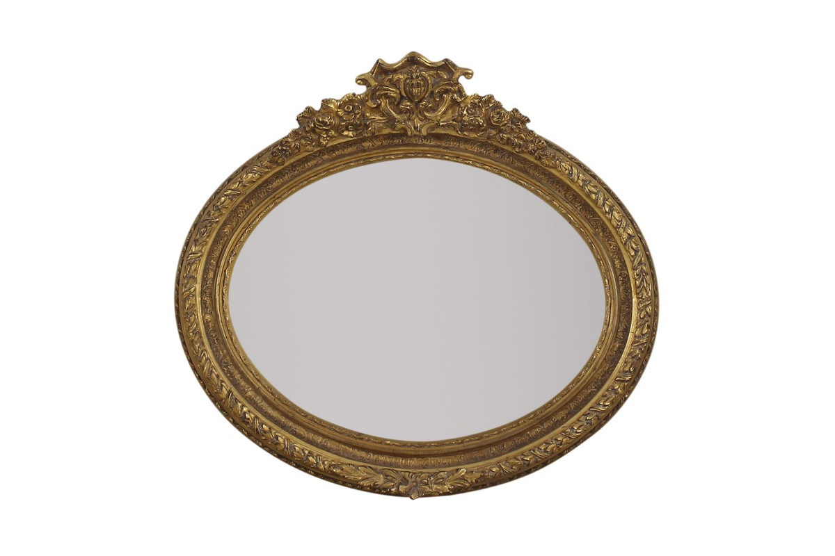 Casa padrino baroque wall mirror 100 x h 70 cm luxury for Miroir 100 x 70
