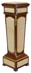 Casa Padrino Baroque column mahogany / cream with marble set