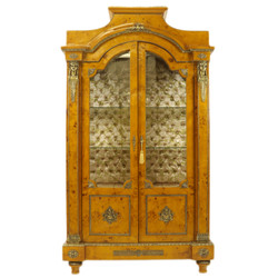 Casa Padrino Empire display cabinet - wooden cabinet - living room cabinet baroque