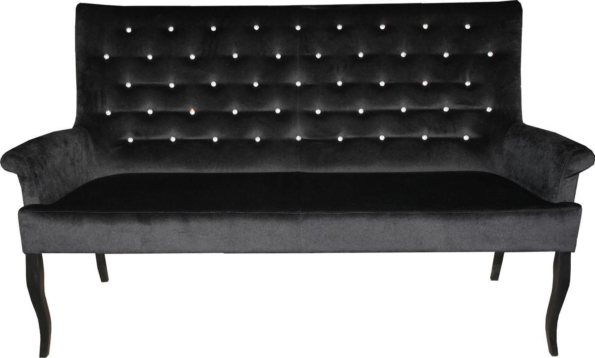 Cool Chesterfield Esszimmerstühle Ideen Von Casa Padrino Sitzbank / Sofa Mit Bling