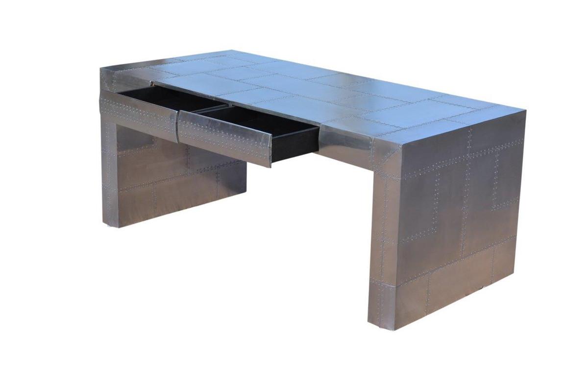 casa padrino art deco aluminium tisch flugzeug flieger. Black Bedroom Furniture Sets. Home Design Ideas