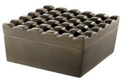 Casa Padrino Luxury Aluminium Ashtray - Designer Accessories