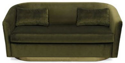 Luxury 2 Seat Sofa Earth