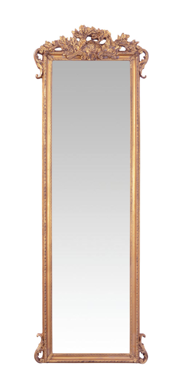 casa padrino baroque wall mirrors gold b 67 3 x h 198 5 cm precious sumptuous mirrors. Black Bedroom Furniture Sets. Home Design Ideas