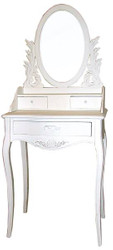 Casa Padrino Dressing Table Shabby Chic Country House Style Look White