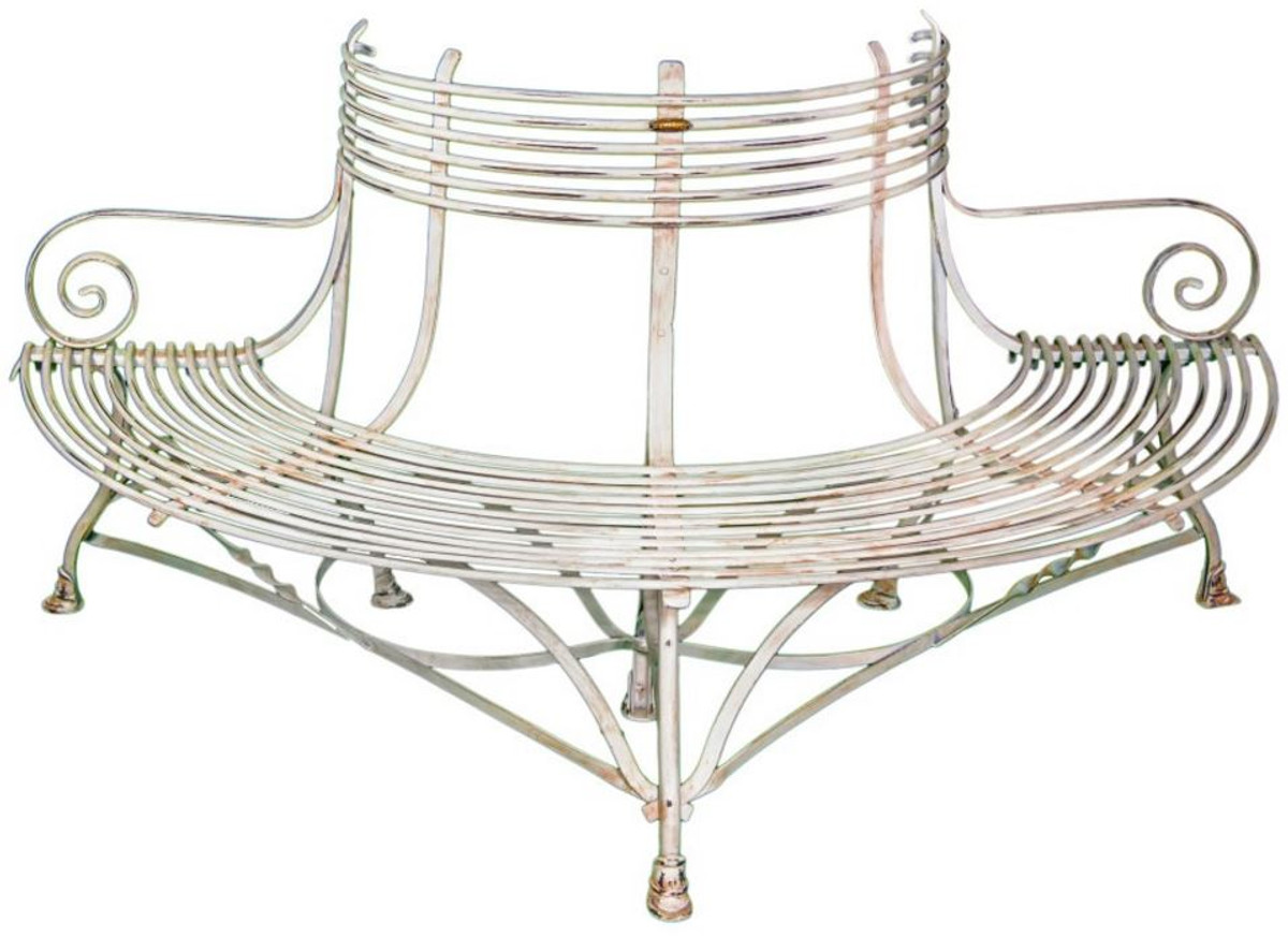 Magnificent Casa Padrino Wrought Iron Garden Bench 1 9 X 0 9 X H 0 9M Vintage Tree Bench Gmtry Best Dining Table And Chair Ideas Images Gmtryco