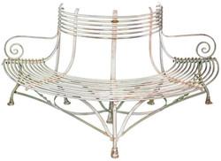 Casa Padrino wrought iron garden bench 1,9 x 0,9 x H. 0,9m - Vintage Tree Bench