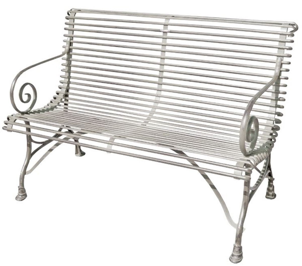 Pleasing Casa Padrino 2 Seater Garden Bench Vintage Wrought Iron Gmtry Best Dining Table And Chair Ideas Images Gmtryco