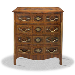 Casa Padrino baroque commode with 4 drawers 80 x 40 x H. 85 cm - Antique Furniture