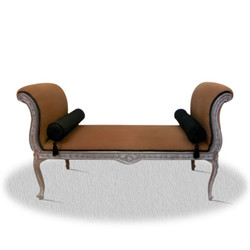 Casa Padrino baroque seat bench 110 x 40 x H. 60 cm - Hotel Furniture