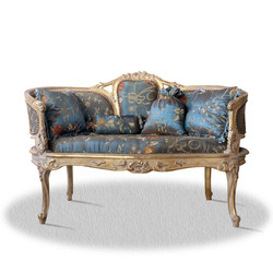 Casa Padrino baroque seat bench with 4 pillows 120 x 50 x H. 80 cm