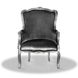 Casa Padrino baroque armchair 70 x 65 x H. 100 cm - Antique Style Armchair
