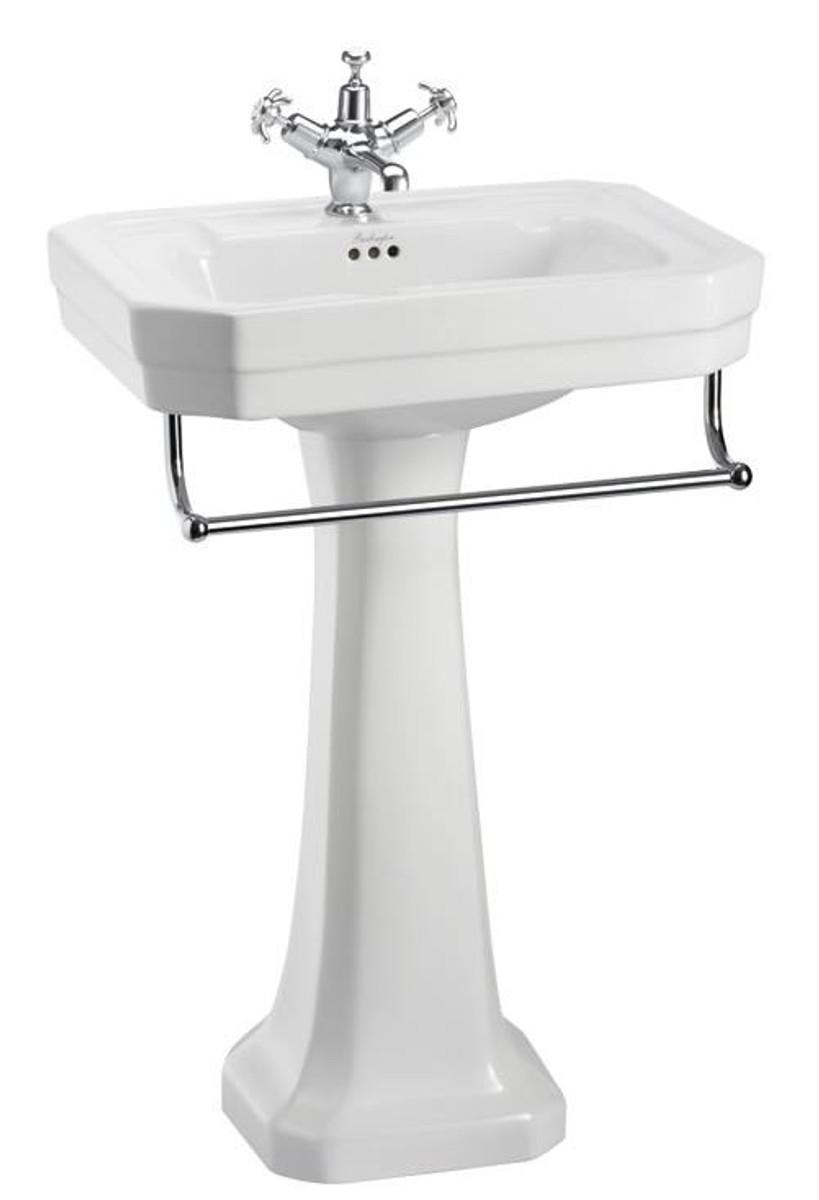 casa padrino porzellan waschbecken mit sockel und. Black Bedroom Furniture Sets. Home Design Ideas
