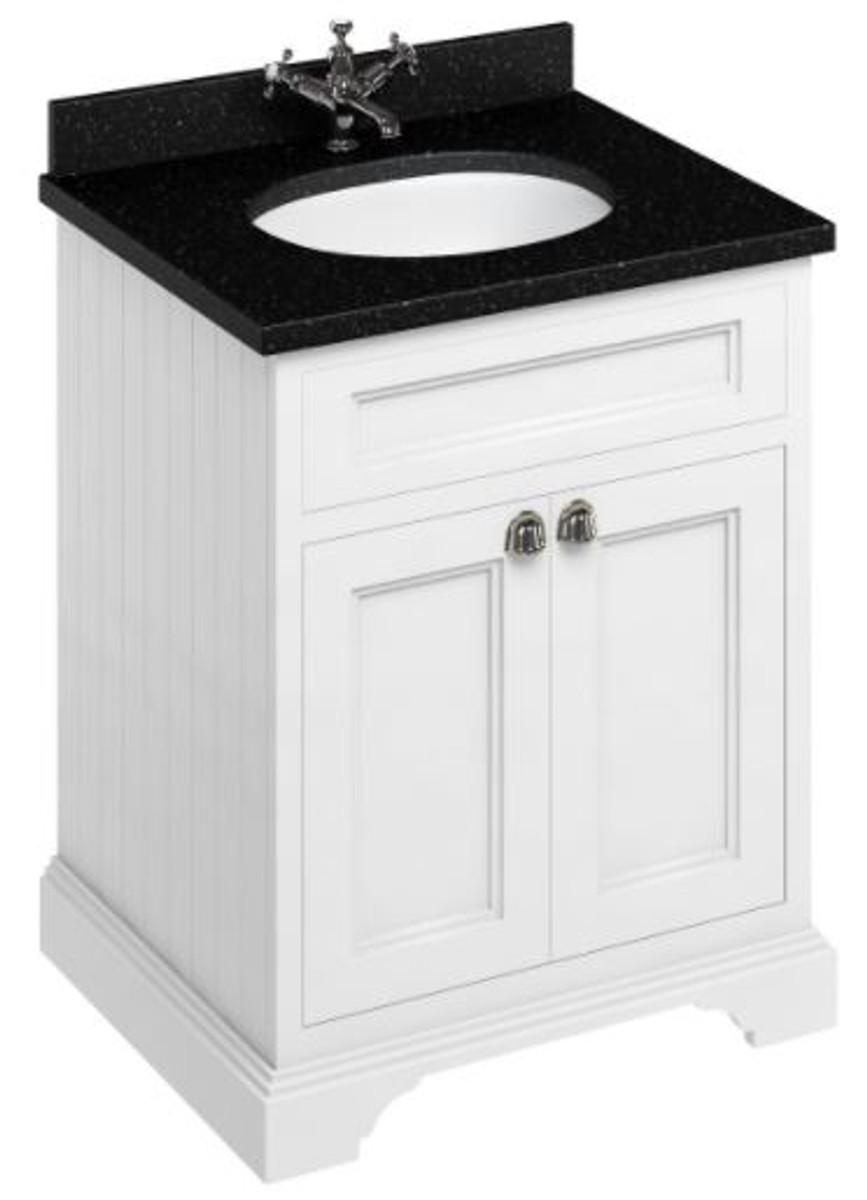 Casa Padrino Luxus Waschschrank Waschtisch Mit Granitplatte Und 2