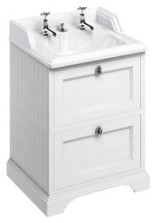 Casa Padrino ceramics washing cabinet with 2 drawers - Luxury Washbasin