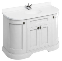 Casa Padrino washing cabinet / washbasin with marble top and 4 doors 134 x 55 x H. 93 cm