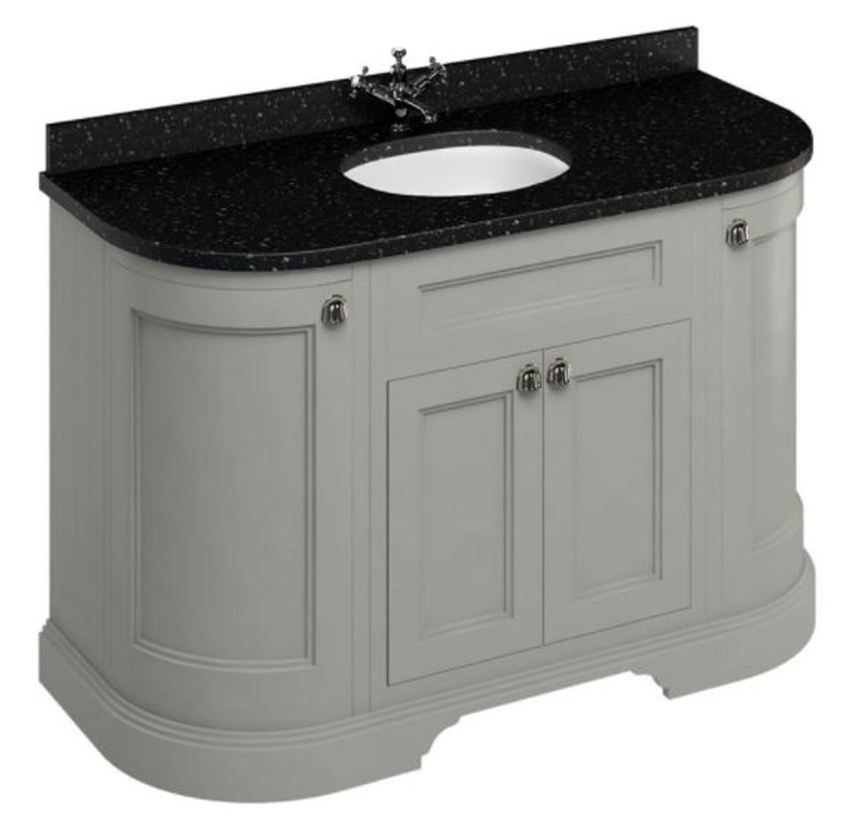 Casa Padrino Waschschrank Mit Granitplatte Und 4 Turen Antik Stil