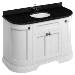 Casa Padrino washing cabinet with granite top and 4 doors - Antique Style Washbasin