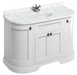 Casa Padrino washing cabinet with marble top and 4 doors - Art Nouveau Design